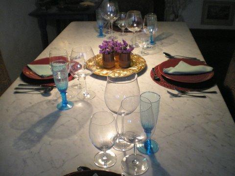 Dining at Casa del Tartufo