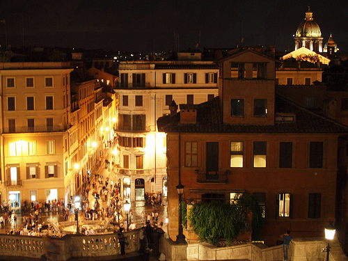 See Roma at night!