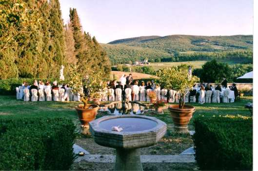Plan a wedding in Tuscany!