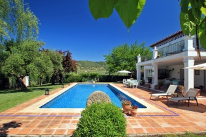 Finca Ronda - Villa Sol, located near Ronda.