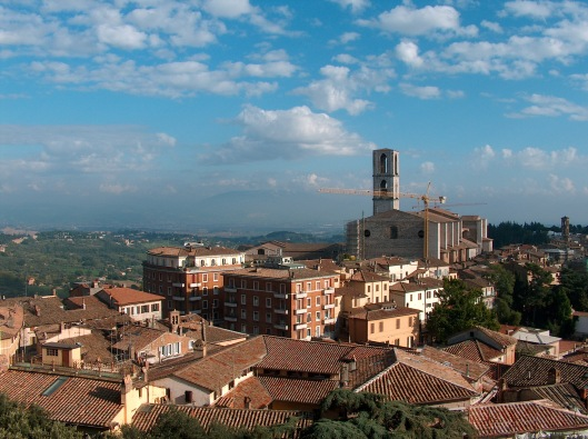 Perugia is a wonderful city to explore! Photo: Larry Ferrante