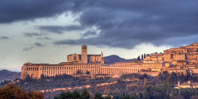 The beautiful town of Assisi. Photo: Roby Ferrari