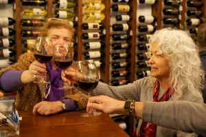 Tasting wine in Tuscany--a great day trip during your villa rental week!
