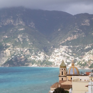 Looking towards Positano from Praiano, a charming fishing village where many of our properties are located. Photo credit: David_Ooms