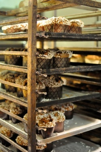 Sample traditional holiday treats such as panettone.