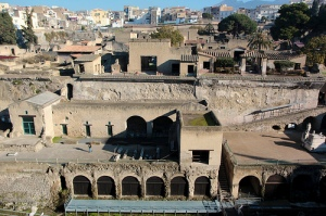 Visit the ruins of Pompeii!