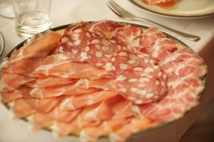 Local salumi are a delicious wine pairing.