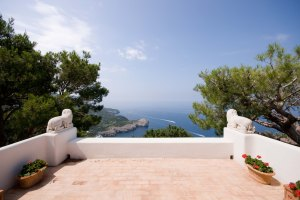 Enjoy Capri's breathtaking views of the Tyrrhenian Sea.